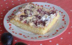 moje záľuby...: Kysnutý slivkový koláč