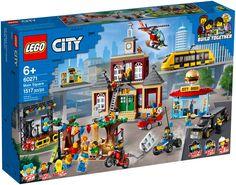 Lego Sets For Boys, Best Lego Sets, Toys For Boys, Village Lego, Main Square, Lego City Sets, Free Lego, Lego Builder, Le Shop