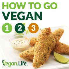 Going vegan is easier than ever before, but we are here to make it even easier—as easy as 1, 2, 3