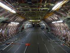 Inside an A380 Test aircraft [1636x1227]. Photo by