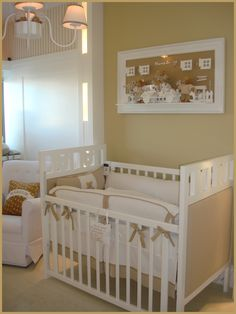 11 01 quarto mario junior5 Decoração para quarto de bebê masculino com branco e ursos