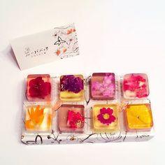 花のババロア「ペタル」 http://www.omiyalog.com/presents/270 お土産口コミサイト - おみやログ - #花のババロア #東京土産 #tokyo…