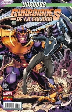 Guardianes de la Galaxia v2, 53 fin de la etapa de Brian Michael Bendis! Con el equipo varado en la Tierra y roto en pedazos, sólo algo podría hacer que se unieran de nuevo, y ese algo es... ¡Thanos! Un plantel de los mejores dibujantes de Marvel acompañan a Valerio Schiti en esta espectacular conclusión.