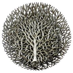 Outdoor wall art that amazes, this layered Tree of Life is all handmade in Haiti.