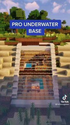 Stairs Minecraft, Amazing Minecraft Houses, Minecraft Wall Designs, Modern Minecraft Houses, Minecraft Building Blueprints, Minecraft House Plans, Minecraft Interior Design, Minecraft House Tutorials, Minecraft Tutorial