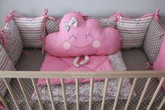 Купить бортики, бортики в кроватку, бортики в кроватку в наличии, бортики в детскую кроватку, Clouds bed pillows, Toddler bedding, Head bumpers, bumper, baby cot bumper, kids room design, kids bedding, бортики в кроватку в наличии
