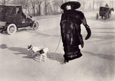 Avenue du Bois de Boulogne, Paris, 1911. SI LA MÈRE AVAIT CONNU PROUST...