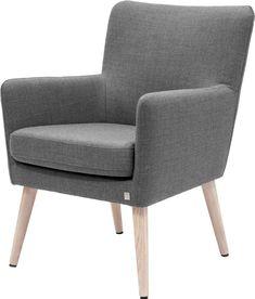 birthe stol fagmøbler mørk grå