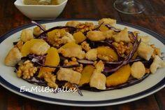 Ensalada de pollo y nueces http://enmilbatallas.com/2014/03/27/ensalada-de-pollo-y-nueces/