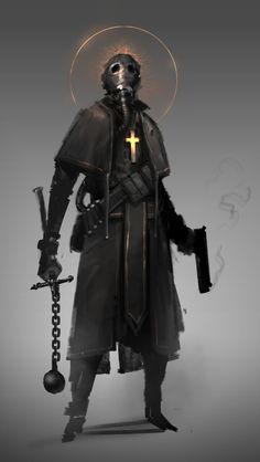 prog wang on - Schmieden Fantasy Character Design, Character Design Inspiration, Character Concept, Character Art, Foto Fantasy, Dark Fantasy Art, Fantasy Art Warrior, Mode Cyberpunk, Apocalypse Character