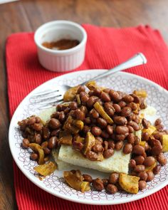 Joanne Eats Well With Others | Black Eyed Peas and Grit Cakes