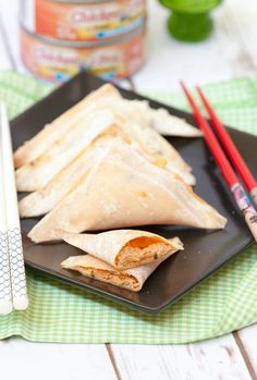 ... Rangoons two ways -spicy or lemon pepper. Great recipe for a party