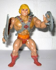 My best friend was a boy.  We compromised:  He Man married Barbie and had GI Joe for kids and lived on a horse ranch full of My Little Pony.   I still have many of my He-Men figurines (which comes in super handy when my Godson comes to visit!)