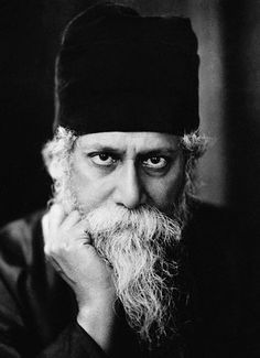 Various Portraits of Indian Poet Rabindranath Tagore - Old Indian Photos