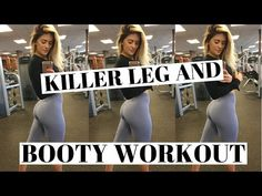 HOT & HEAVY Leg And Booty WORKOUT - YouTube