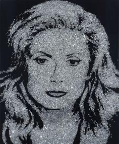 Vik Muniz, Catherine Deneuve (Diamond Divas), (2004)
