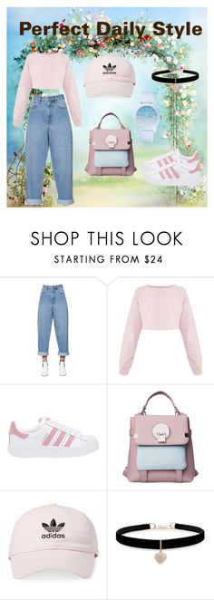 """Perfect Daily Style"" by alifializa ❤ liked on Polyvore featuring Étoile Isabel Marant, adidas Originals, adidas, Betsey Johnson and Lacoste"