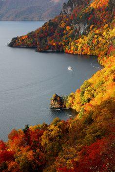 ~~Visiting Autumn, Lake Towada, Aomori, Japan by PS~~