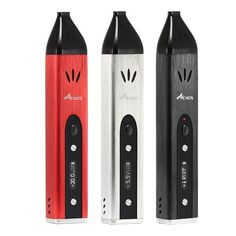 100% Original 3 in 1 Vaporizer Kit Acigax Triple Use Vaporizer VV VW 20w with LED Display Temperature Adjustable in Stock