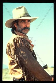 Sam Elliott, the lead character in SHADOW TRAILS would be in his mid-twenties when in real life he is No matter, with his horseshoe moustache, deep resonant voice, and Western drawl he would be perfect. Marguerite Duras, Katharine Ross, Cowboys And Indians, Cowboys Men, Real Cowboys, Culture Pop, Tom Selleck, Cowboy Up, Western Movies
