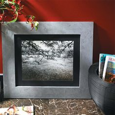 Making a plain picture frame is simple, but adding texture transforms a plain picture frame into a stylish frame that would normally cost big bucks. Use offcuts or PAR pine to make these picture frames and then add a distinctive faux finish. http://www.home-dzine.co.za/crafts/craft-metal-frames.htm