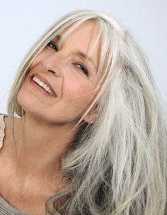 beautiful Silver hair
