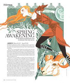 Kali Ciesemier's illustration Magazine Illustration, Children's Book Illustration, Book Design, Cover Design, Design Design, Magazine Layout Design, Magazine Layouts, Newspaper Design, Publication Design