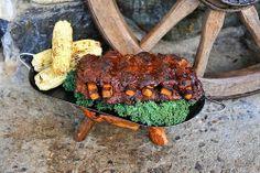Two For Tuesday: BBQ Seitan Ribs and Deli Style Macaroni Salad