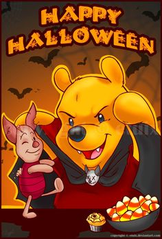 Halloween Winnie the Pooh & Piglet | ♢Winnie the Pooh ...