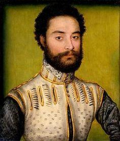 KG François de 2.Duc Montmorency(*1530+1579), ca. 1560 (Corneille de Lyon) (ca. 1505-1575)  Location TBD