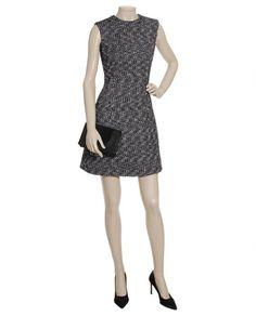 Alexander McQueen tailored tweed dress