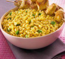 Ebly au Curry & au Coco, Brochettes de Poulet