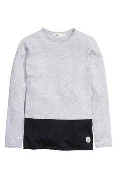 H&M - Block-coloured jumper £12.99