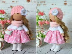 Tilda doll Interior doll Fabric doll Art doll por AnnKirillartPlace