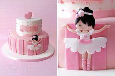 Ballerina Cake . She is adorable                              …