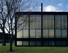 Restauración de Mies van der Rohe: S.R. Crown Hall por Krueck and Sexton Architects. Fotografía © Todd Eberle. Cortesía de Krueck and Sexton Architects.