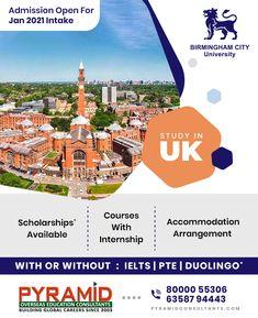 Scholarships In Uk, Education Consultant, Birmingham City University, Study In New Zealand, Overseas Education, Ielts, Germany, Australia, Website