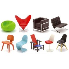 Poketo blind box designer chairs palm-sized $12