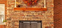 Placing a Mantel Shelf Over a Fireplace | DoItYourself.com