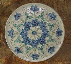 Criações originais da artista plástica Darly Pellegrini em ceramica de alta temperatura