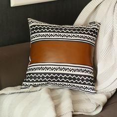 Decorative Pillow Covers, Throw Pillow Covers, Decorative Throw Pillows, Cushion Covers, Pillow Cases, Leather Throw Pillows, Leather Pillow, Leather Fabric, Decor Pillows