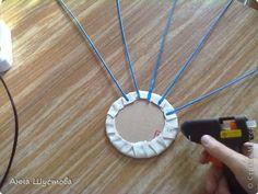 alap Мастер-класс Плетение МК по покраске трубочек и изготовлению дна Бумажные полосы фото 18