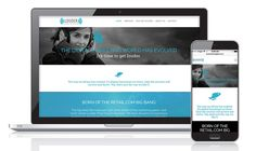 Website design for Louder than Digital—branding, copy and design by Raison.