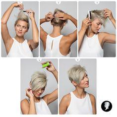 Pondělí? V práci se blýsknete jednoduchým natupírovaným účesem, který vám předvedeme v soutěžním tutorialu č. 4. Pearl Earrings, Pearls, Jewelry, Fashion, Moda, Pearl Studs, Jewlery, Jewerly, Fashion Styles