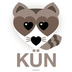 KÜN ( coon /ko͞on/ ) The raccoon (/ræˈkuːn/, Procyon lotor), sometimes spelled racoon, also known as the common raccoon, North American raccoon, northern raccoon and colloquially as coon, is a medium-sized mammal native to North America. The raccoon is the largest of the procyonid family, having a body length of 40 to 70 cm (16 to 28 in) and a body weight of 3.5 to 9 kg (8 to 20 lb). Its grayish coat mostly consists of dense underfur which insulates against cold weather. Two of the raccoon's…