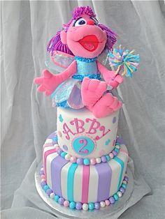 Abby's Abby Cadabby Cake  By: amyvanderhaag