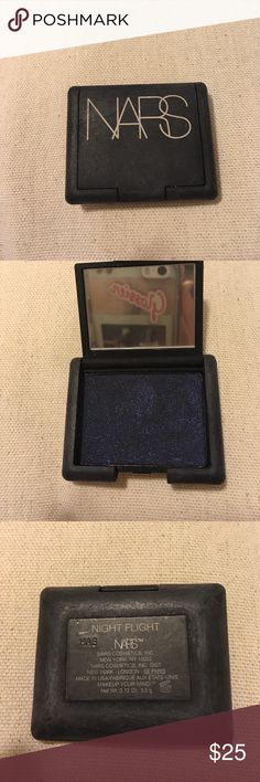 Bars Shadow Never used. Has been inside my makeup bag so it has some residue from other makeup on it but this is new. Dark navy with shimmer. NARS Makeup Eyeshadow