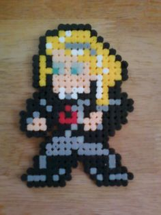 Me in 8-bit bead sprite form