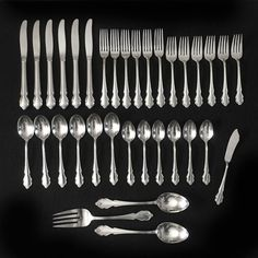 """Cambridge by Towle Sterling Silver Dessert Fork 3-Tine 6/"""""""