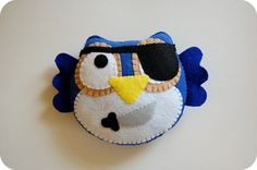 Oh So Green Owl by vivikas on Etsy